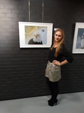 Exposicion_de_pintura_mas_que_animales_hiperrealismo_gabriela_del_olmo_pilar_miro_2