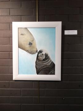Exposicion_de_pintura_mas_que_animales_hiperrealismo_gabriela_del_olmo_pilar_miro_3