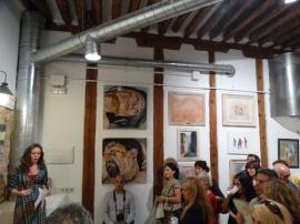 exposicion-feeding-art-madrid-malasana-gabriela-del-olmo-animal-portrait-artist-7